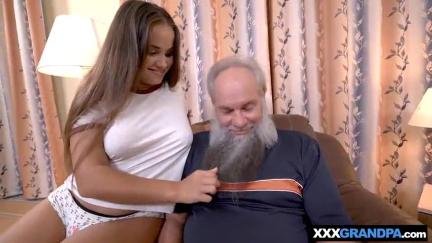Young Wife Fucks Old Man