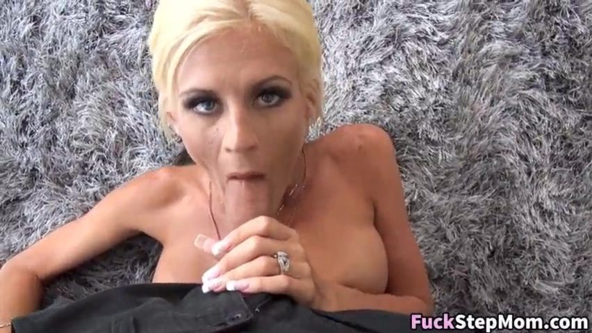 Step Mom Fucks College Son
