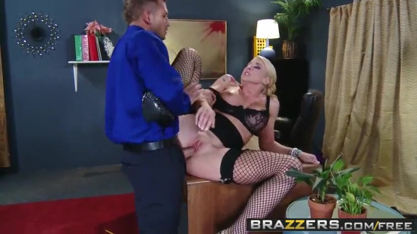 Gorgeous Blonde Sucks Fucks