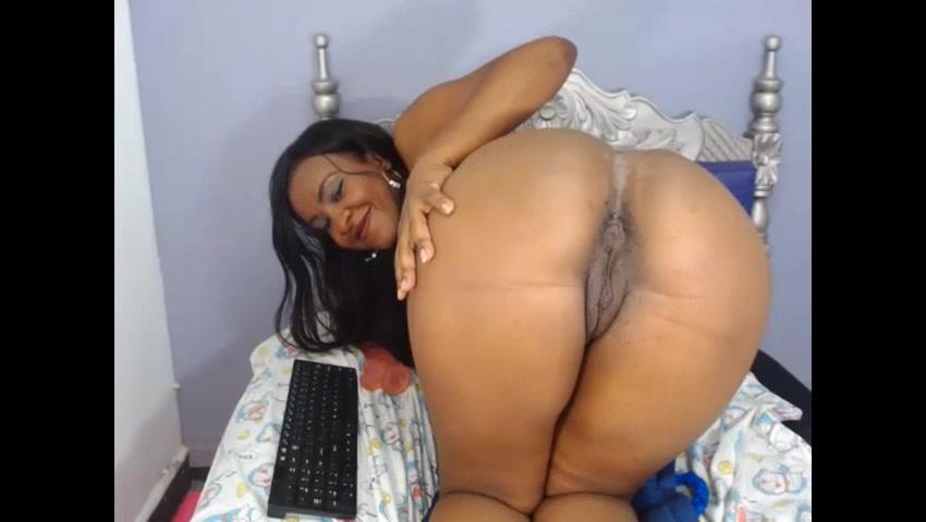 Ebony Couple Webcam Fuck